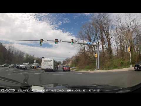 Kenwood - DRV-A601W Dashcam sample video