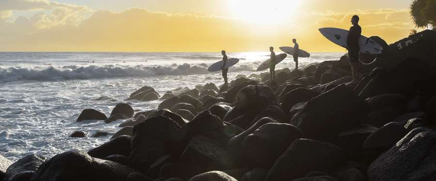 Australië is een paradijs voor surfers!