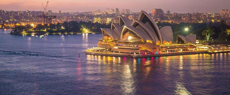 Het bekendste gebouw van de stad... Het Sydney opera house!
