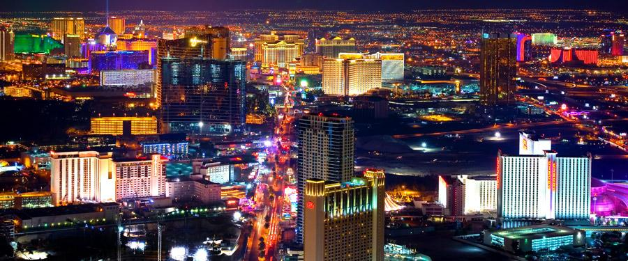 De beruchte Las Vegas strip.