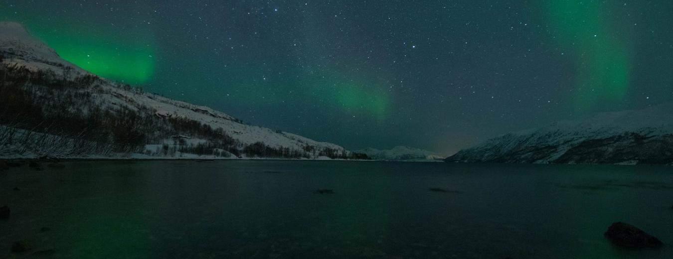 De aurora borealis of het noorderlicht is een adembenemend schouwspel van moeder natuur.