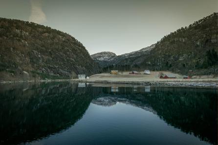 Fjorden in Noorwegen, bergen