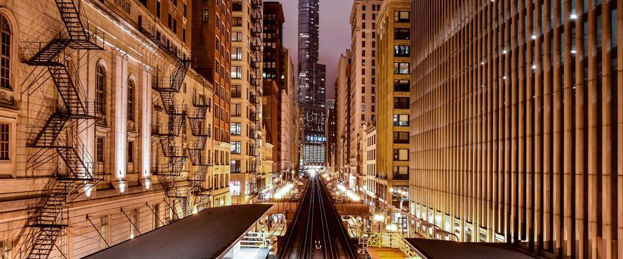 Chicago leeft 24u op 24u. Er is geen moment stilte in deze metropool!