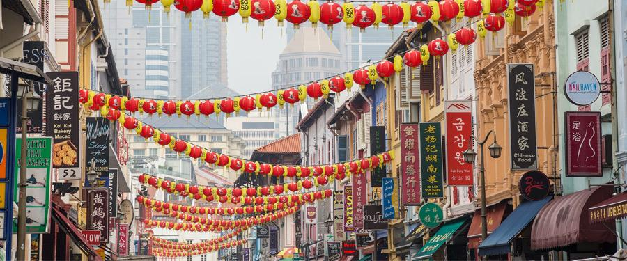 Chinatown in Singapore. Eén van de leukste wijkjes om te verkennen.