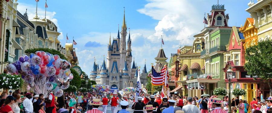 Disney world in Orlando, het tweede grootste Disney park van de wereld!