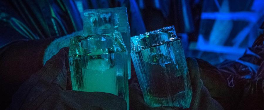 Voor een ijzig dranke is er maar één plek. De Ice bar van Stockholm.