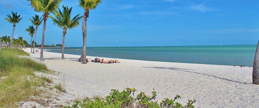 Heerlijk ontspannen op de paradijselijke stranden van Key West.