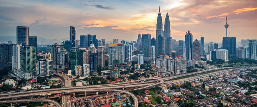 Kuala Lumpur, de metropool van Maleisië.