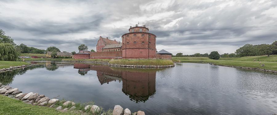 Het landskrona Slott in Scania, Zweden.