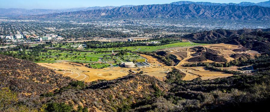 Het grootse Griffit Park omringt bijna volledig Los Angeles en is perfect voor een dagje wandelen.