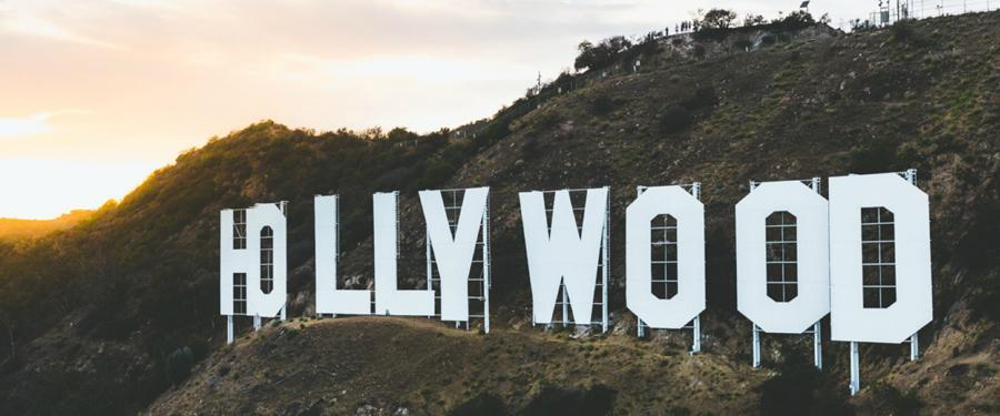 De befaamde Hollywood letters!
