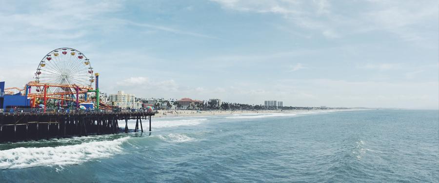 Los Angeles heeft heel wat stranden. Eén van de leukste is het Santa Monica strand en de befaamde pier.