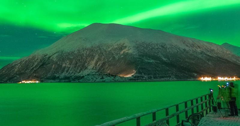 noorwegen aurora borealis