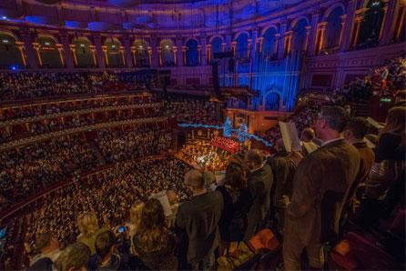 Royal Albert Hall Christmas Carrols Kerst in Londen
