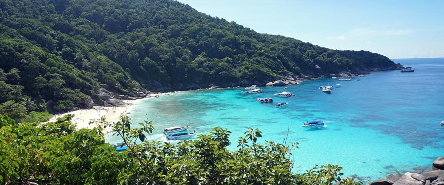 Eén van de mooiste eilandengroepen ter wereld ligt in Thailand! De Similan eilanden.