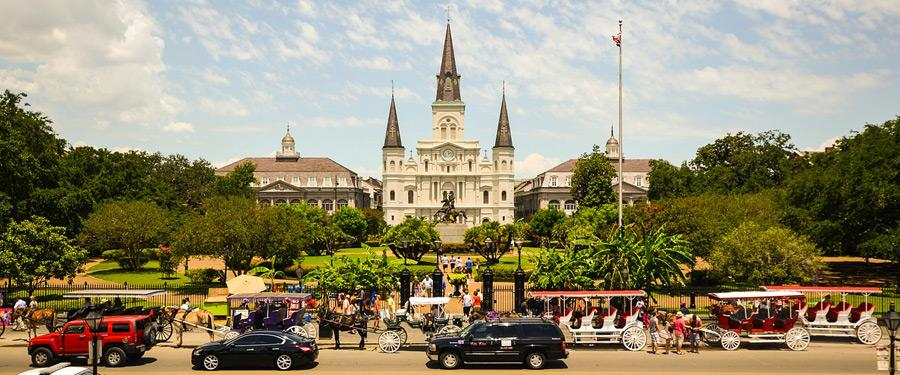 De St. Louis Cathedral van New Orleans!