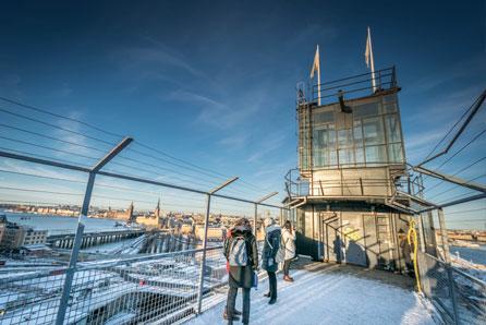 Stockholm katarina elevator platform