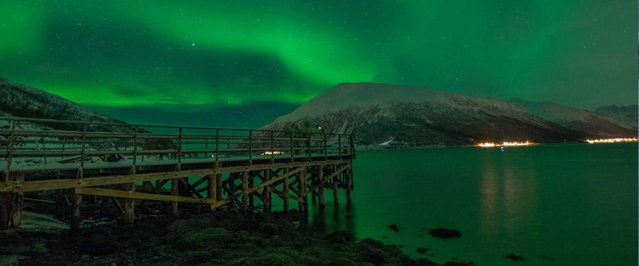 Het noorderlicht is heel vaak te zien in Tromsø. Een must als je daar bent!