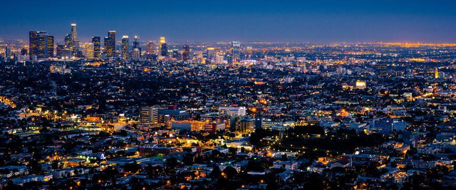 Los Angeles! De stad van film- en muzieksterren.