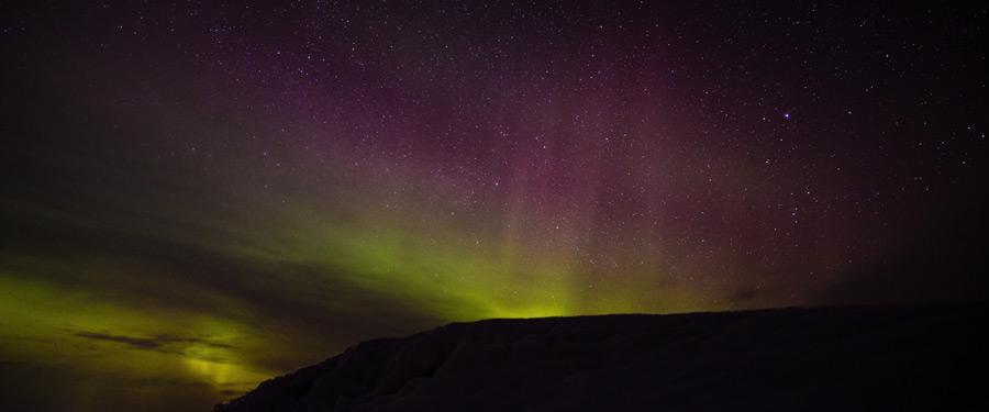 Trek je naar het noorden van Zweden? Dan is de kans groot dat je de fenomenale aurora borealis ziet dansen!