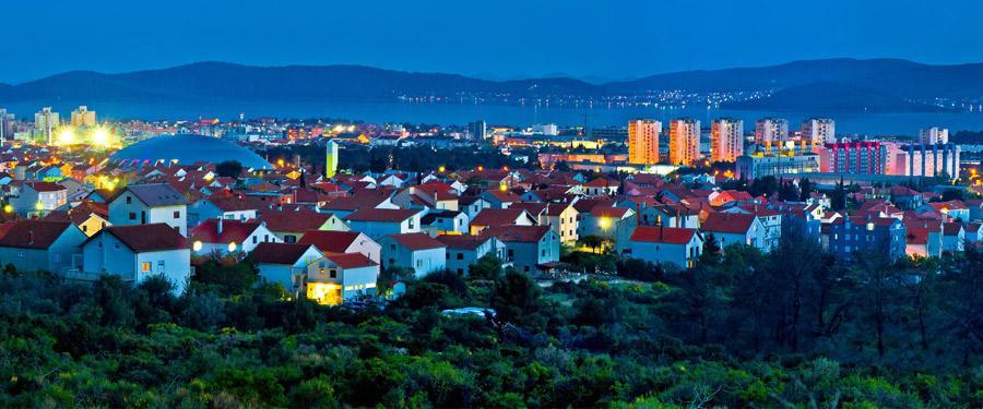 Het moderne deel van Zadar.