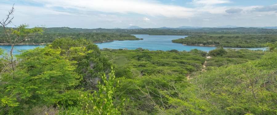Christoffel Columbus ontdekte op deze plek de Dominicaanse Republiek.