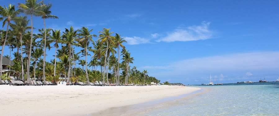 In de Dominicaanse Republiek vind je prachtige stranden! Punta Cana is heel toeristisch, maar prachtig!