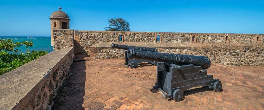 Fortalezze San Felipe in Puerto Plata.