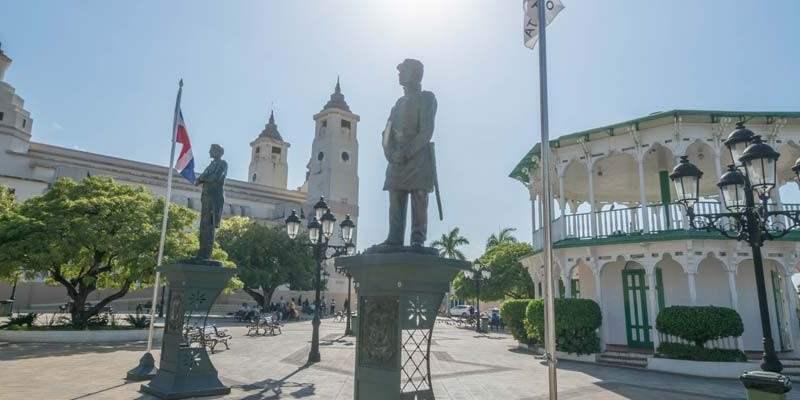 Puerto Plata centraal plein