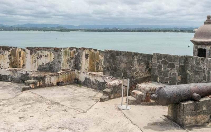 Puerto rico kasteel san felipe