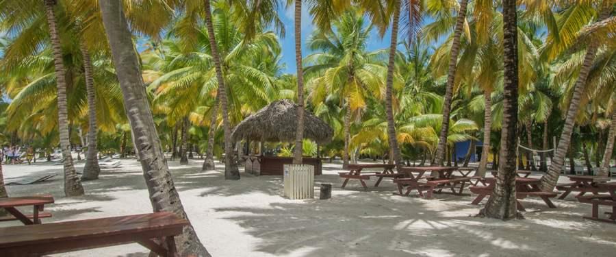 In Punta Cana heb je oneindig veel stranden waar je helemaal tot rust kan komen.