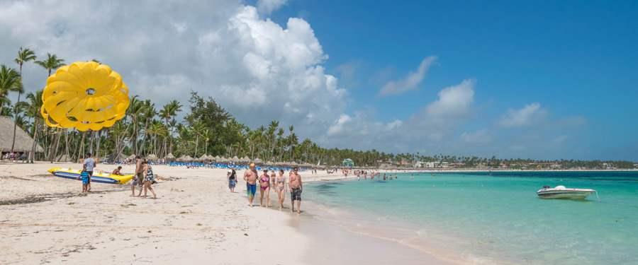 Op de prachtige stranden van Punta Cana kan je heel wat watersporten beoefenen!
