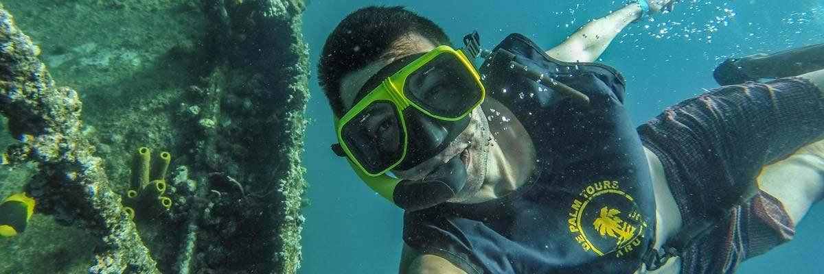 Selfie met de SS Antila!