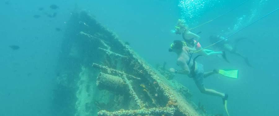 Snorkelen of snuba duiken rond de SS Antilla in Aruba!