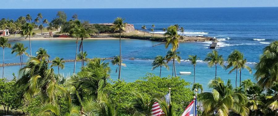 Puerto Rico maakt deel uit van de Caraïben. Prachtige stranden met warme oceanen verzekerd dus!