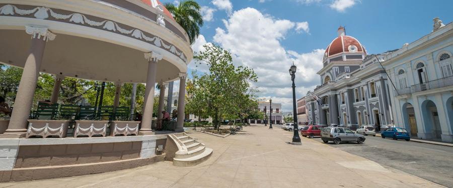 Cienfuegos, een van de grotere steden in Cuba.