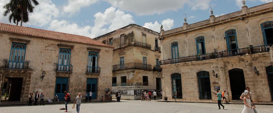 Historische en koloniale gebouwen vind je overal in Habana Vieja.
