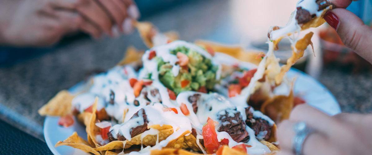 Het typische Mexicaanse voedsel is zeker uit te proberen! Heerlijk!