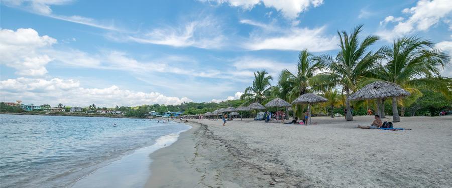 Rancho Luna, het dichtstbijzijnde strand van Cienfuegos.