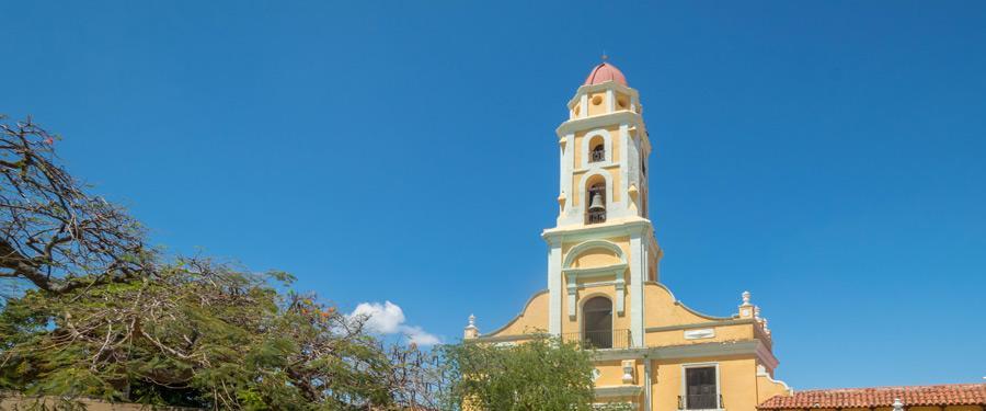 De San Francisco kerk van Trinidad is het hoogste gebouw van de stad.
