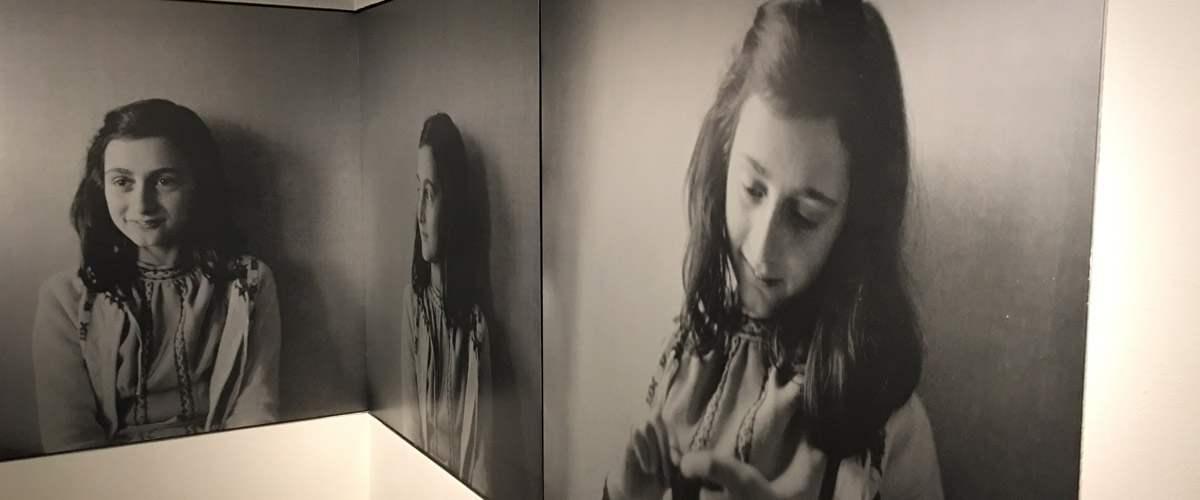 De eerste kamer van het Anne Frank huis in Amsterdam.