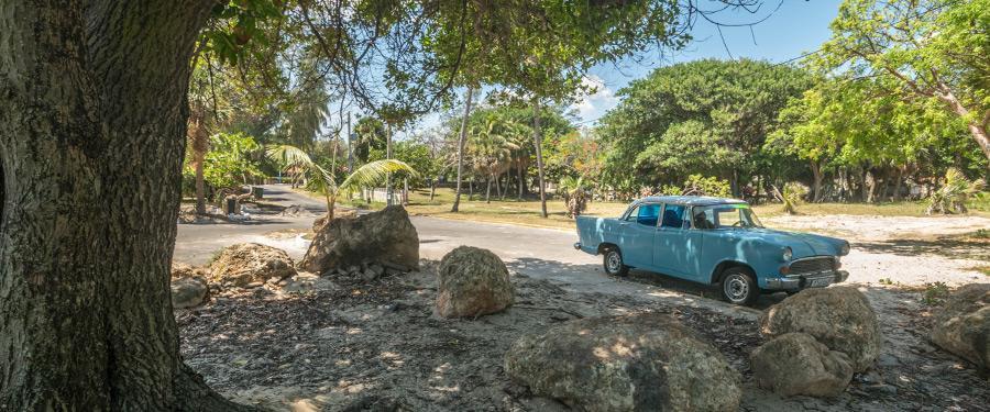 Cuba staat bekend om zijn oldtimers. En in Varadero zie je die natuurlijk ook overal!