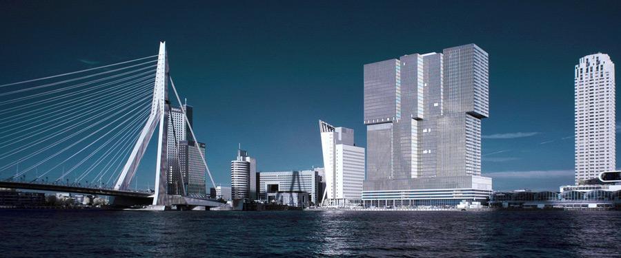 De Erasmusbrug van Rotterdam. Een sterk staaltje vakmanschap en architectuur!
