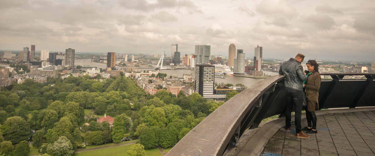 De Euromast in Rotterdam geeft je een prachtig uitzicht over de stad!