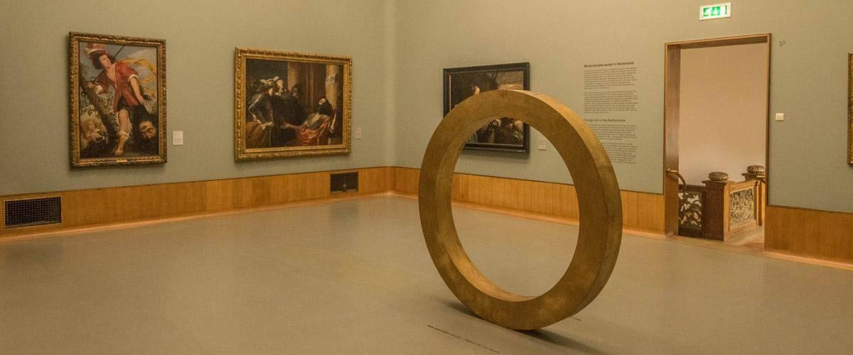 Enkele werken in het Boijmans van Beuningen Museum.