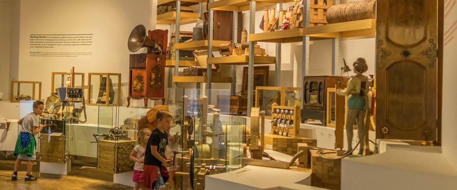 Het speelklok museum in Utrecht, Nederland.