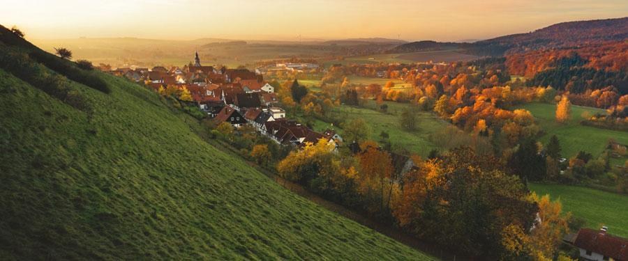 Duitsland heeft niet alleen hypermoderne steden. Ook het platteland heeft zijn charmes.
