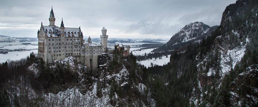 Slot Neuschwanstein in Beieren, Duitsland.