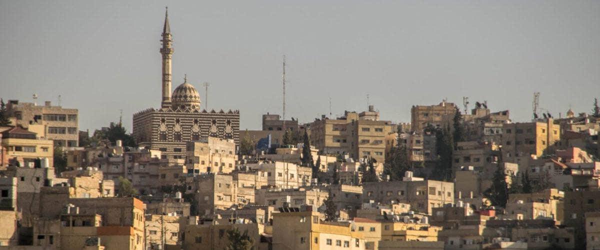 Amman, de hoofdstad van Jordanië, is een echte metropool!