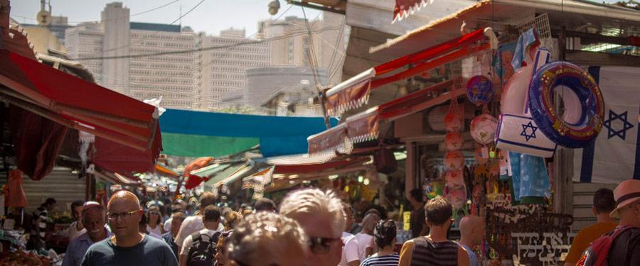 De Carmel markt in Tel Aviv is een favoriet onder locals en toeristen!